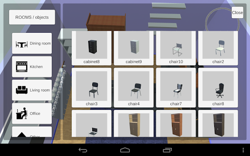 App room creator interior design apk for windows phone for Room design game app