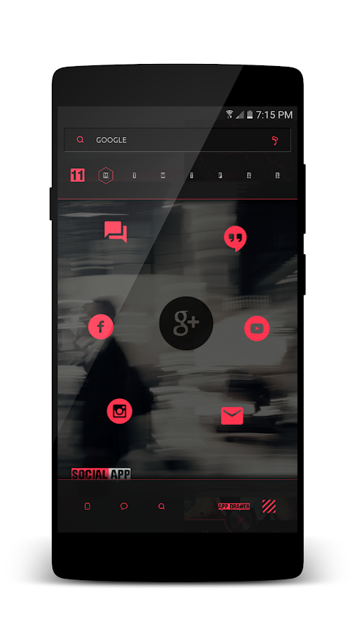 Kards CiTyyy for KLWP Screenshot 7