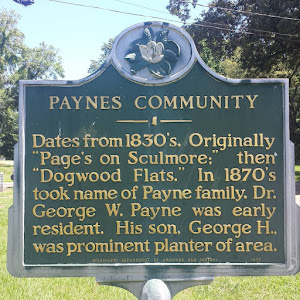 PAYNES COMMUNITY Dates from 1830's. Originally