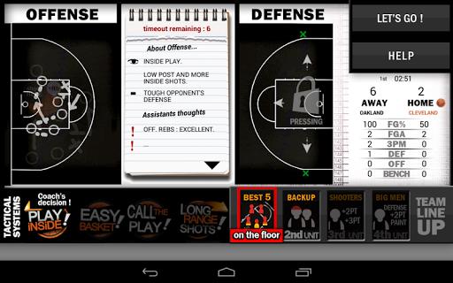 New Basketball Coach 16 - screenshot