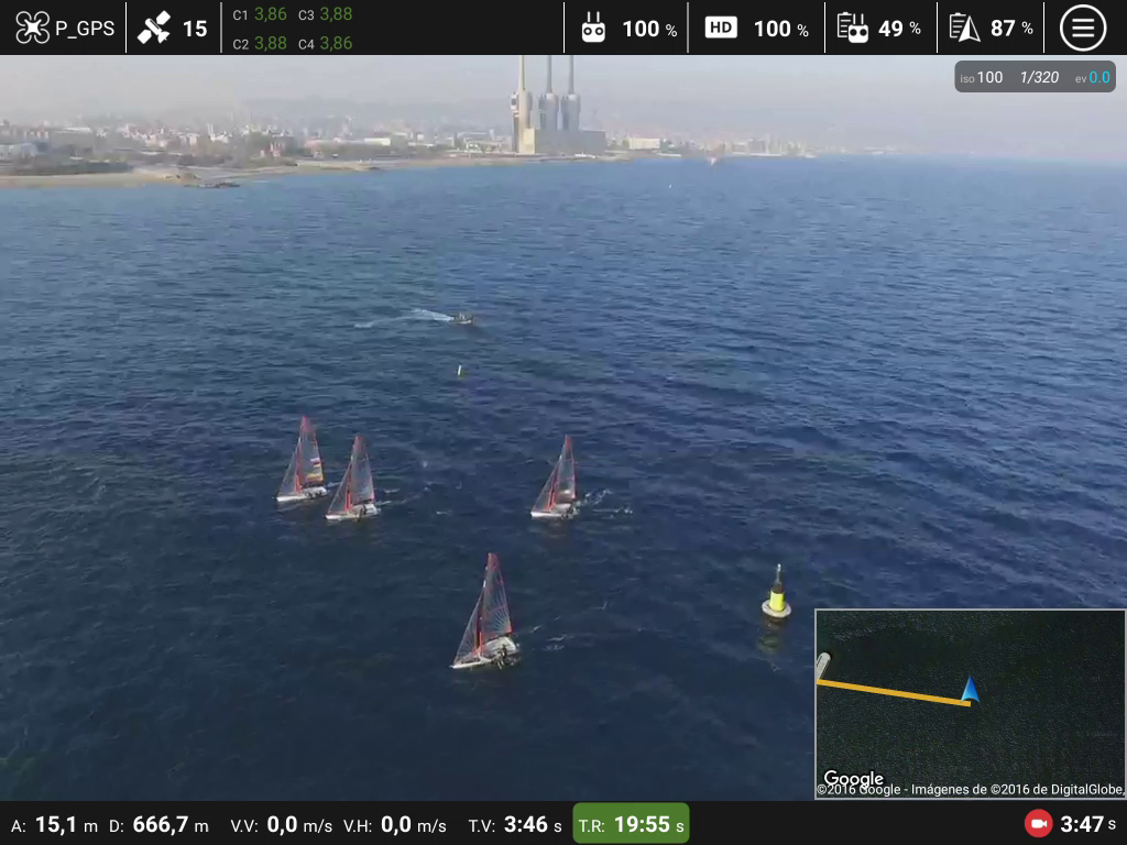Top Pilot DJI Phantom/Inspire Screenshot