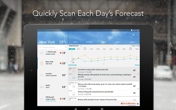 AccuWeather Platinum APK screenshot thumbnail 12