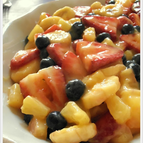Simple Summer Fruit Salad
