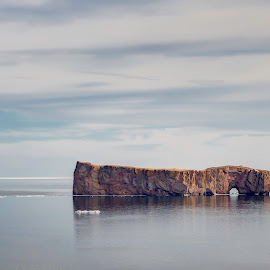 by Nancy Kearney - Landscapes Caves & Formations ( percé-rock, rocher-percé, percé, rock formation, landscape, relax, tranquil, relaxing, tranquility )
