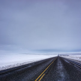 Into empty  by Todd Reynolds - City,  Street & Park  Street Scenes