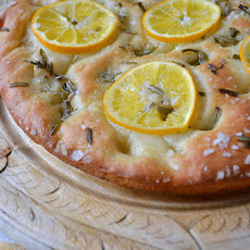 Lemon and Sea Salt Focaccia