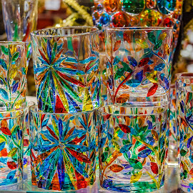 Colourful Murano glasses by Simon Shee - Artistic Objects Glass ( 2017, glass, venice, murano, italy,  )