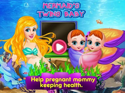 Mermaid's Twins Baby-Preganant- screenshot thumbnail
