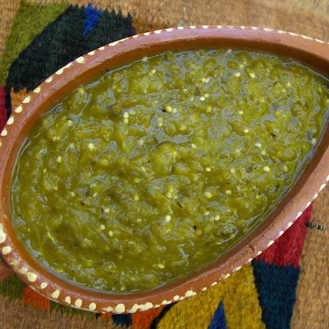 5. Chile Verde (Green Chile Sauce)