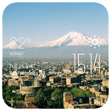 Ararat weather widget/clock