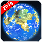 Earth Map Live GPS: Speedometer & Navigation Icon