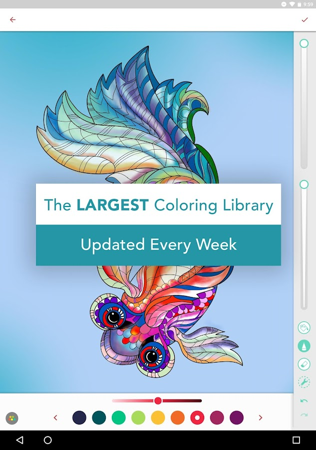 Pigment - Coloring Book Screenshot 7