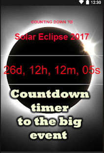 Solar Eclipse 2017 Info Timer And Maps PC