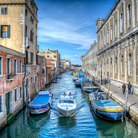 Venice by Cristian Peša - City,  Street & Park  Historic Districts ( venice, canal )