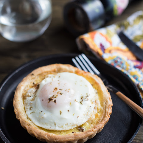 FRIED EGG QUICHE