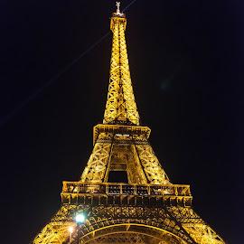 La Tour Eiffel (Paris) by Salvatore Amelia - Buildings & Architecture Statues & Monuments