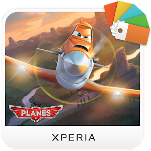 XPERIA™ Planes Dusty Theme