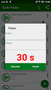 Áudio Piadas- screenshot thumbnail