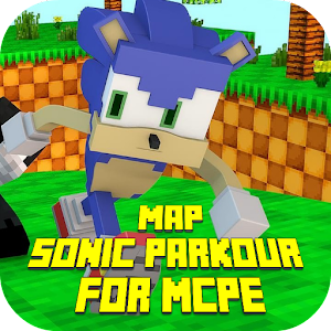 Map Sonic Parkour for MCPE For PC