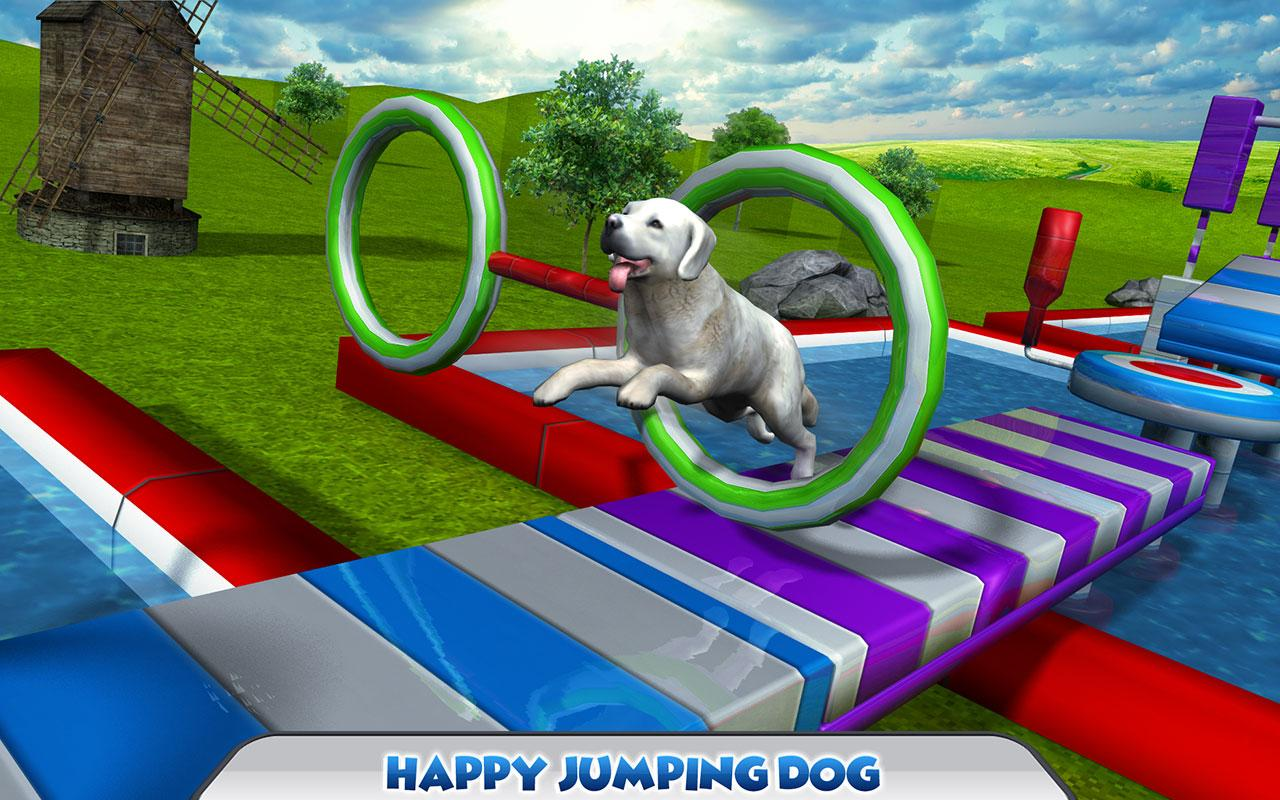 Stunt Dog Simulator 3D Screenshot 4