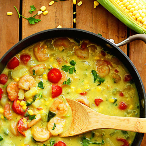 Shrimp and Corn Chowder AND Tieks Giveaway!!!