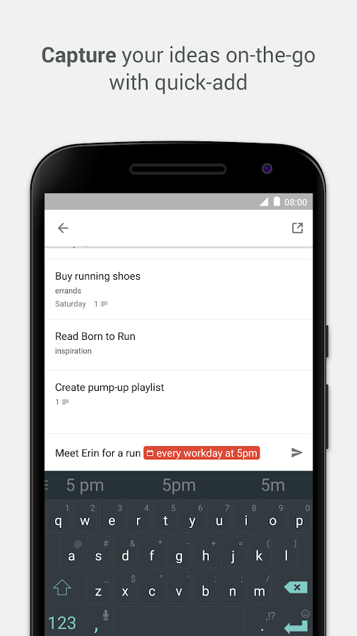 Todoist: To-Do List, Task List Screenshot 3