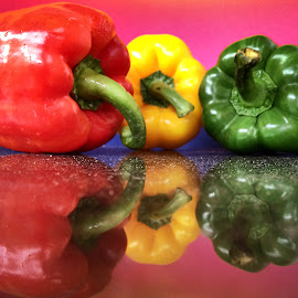 capsicum by Janette Ho - Food & Drink Fruits & Vegetables