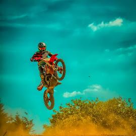 free like a bird !!  by Dragan Rakocevic - Sports & Fitness Motorsports