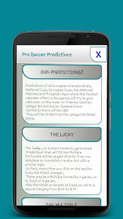 App Pro Soccer Predictions version 2015 APK