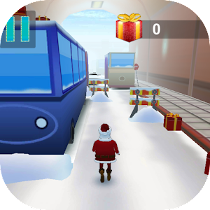 Santa Subway Surf