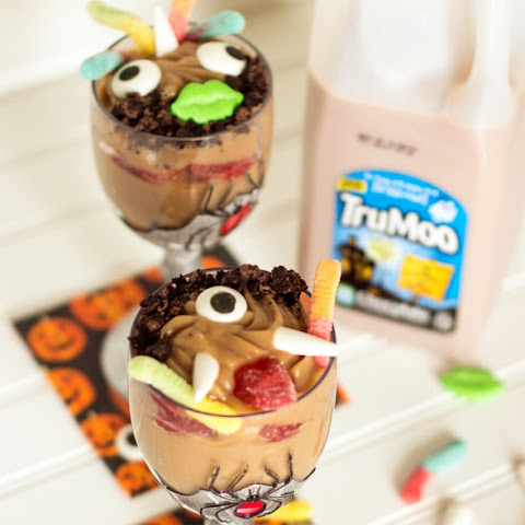 Spooky Pudding Cup Trifle