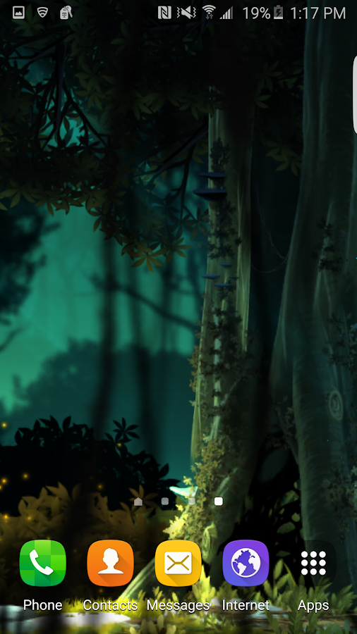 Fantasy Jungle Live Wallpaper Screenshot 1