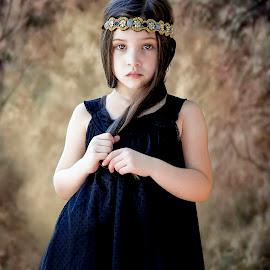 Little Princess by Sylvester Fourroux - Babies & Children Child Portraits
