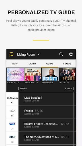 Peel Smart Remote TV Guide screenshot 4