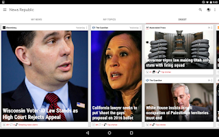 Screenshot of News Republic – Breaking news