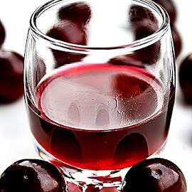 Homemade Cherry liqueur  by Alka Smile - Food & Drink Alcohol & Drinks (  )