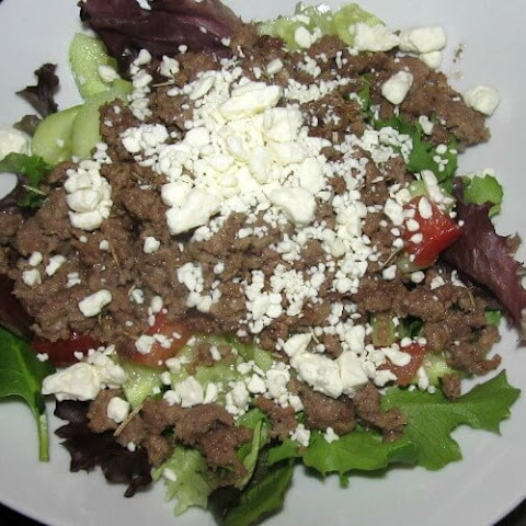 Ground Lamb Salad