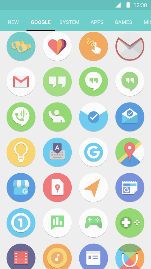Flatro Icon Pack Screenshot 2