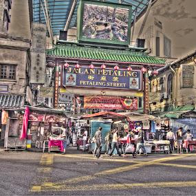 Petaling Street by Steven Chong - City,  Street & Park  Street Scenes