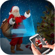 Santa Face Projector Simulator