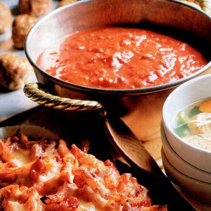 Big-Batch Tomato Sauce Recipe | Yummly