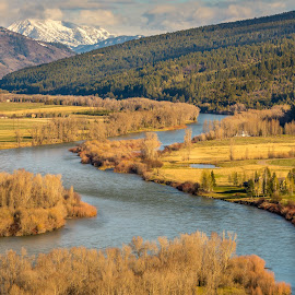Swan Valley by Chad Roberts - Landscapes Mountains & Hills ( idaho, mountain, snake river, swan valley, valley, river )