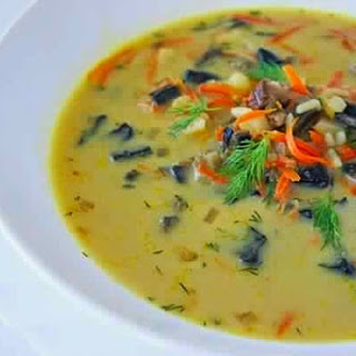 Soup Of Dried Mushrooms