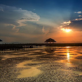 Just Sit and Relax  by Arthit Somsakul - Landscapes Sunsets & Sunrises