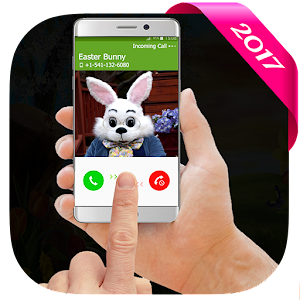 call easter bunny app