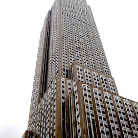 Empire State Building by Philippe Smith-Smith - Buildings & Architecture Public & Historical ( skyline, skyscraper, town, new york, architecture )