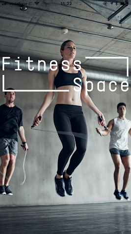 Fitness Space App Screenshot