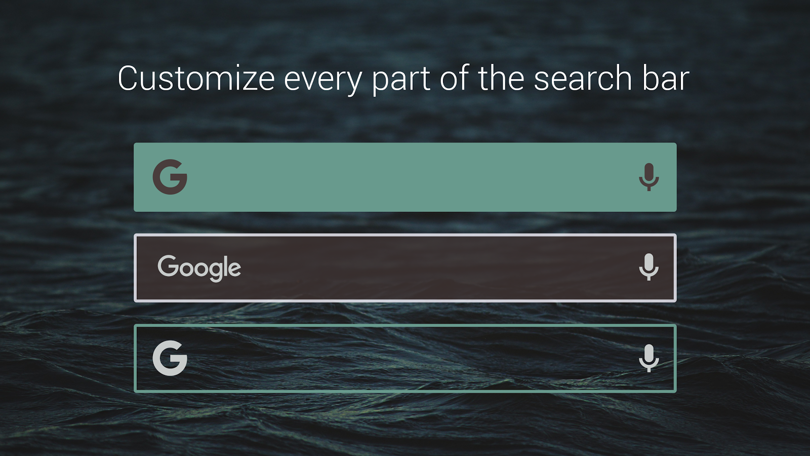 Custom Search Bar Widget CSBW Screenshot 3