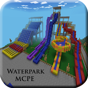 Guide for Waterpark MCPE map For PC