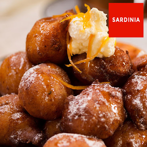 Ricotta Fritters With Orange And Honey
